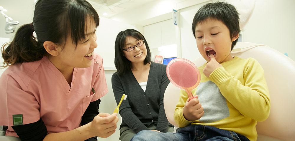 小児歯科に対する取り組み方
