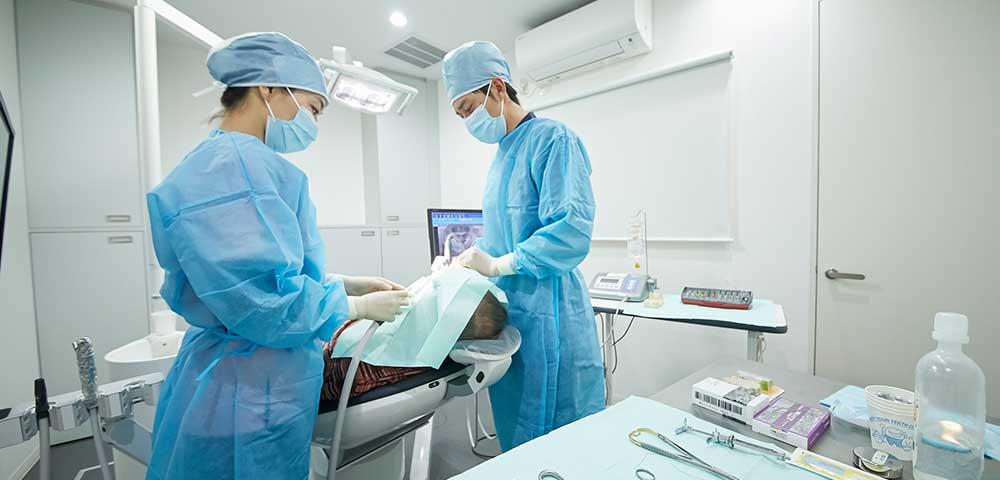 インプラント手術時の環境